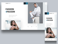 fashion4passion landingpage