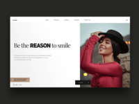 Be the reason to Smile landingpage