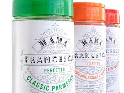 Mama Francesca Cheese Co. brand identity logo kyle poff