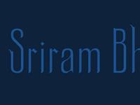 Sriram Bhat
