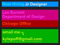 Leo Burnett Now Hiring