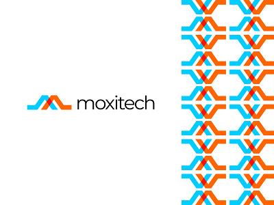 moxitech modern logo idea I concept design abstract simple logo concept letter logo logo idea m letter logo m letter m graphic design modern minimal logotype logo trends 2020 logo lettermark idea concept branding