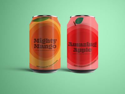 Refresh yourself. retro illustration label design packaging branding design