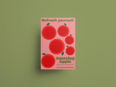 Refresh yourself. vector illustrator poster branding