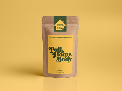 Quarantine coffee roasters illustrator corporate design coffee label design packaging branding