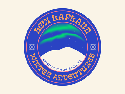 Winter adventures vector illustration design illustrator patch design