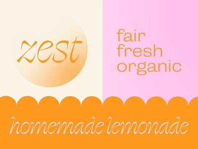 zest corporate identity branding retro vector illustrator graphic design