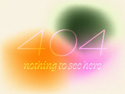 grainy 404 404 retro typography graphic design gradient grain illustrator