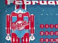 Kid Rocket Calendar