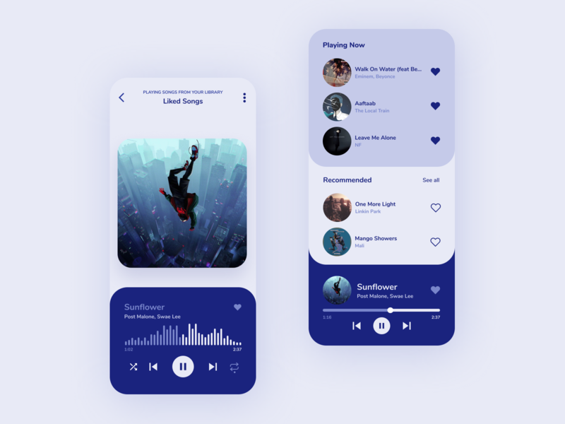 Music player music player app songs uiux ui music player ui spotify music music app music player