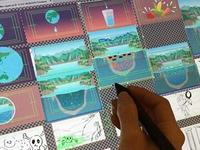 Storyboards / Animation Asset Illustrations