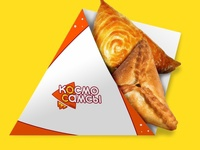 """Logo design for """"DesignCup 2016"""" competition fastfood rocket cosmo triangle logotype branding logo"""