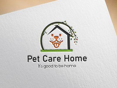 Animal / Pet Logo typography logo illustrator icon branding vector minimal graphic design flat pet animal