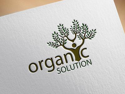Natural Logo illustration design illustrator vector graphic design typography branding icon minimal logo flat