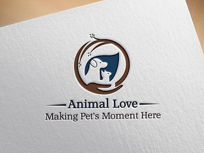 Animal Logo pet branding illustration graphic design illustrator minimal vector icon logo flat