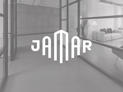 Jamar interior real estate typography custom logotype logo