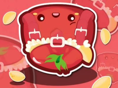 Zaino artwork cute kawaii chibi food characterdesign adobe vectorart digitalart art graphicdesign illustrator illustration