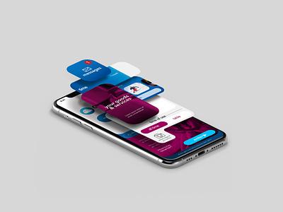 Dreamolo App UI design by: Ali Zamani vector flat app web minimal branding design ux ui ali zamani