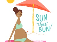 Sun that bun