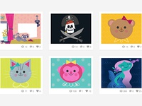 Follow our new illustration Dribbble!