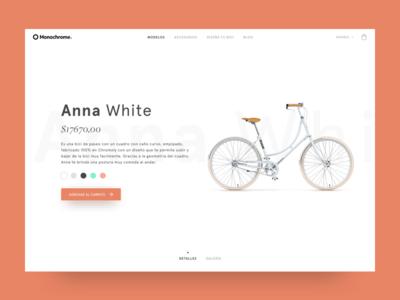Monochrome - Product Details Concept
