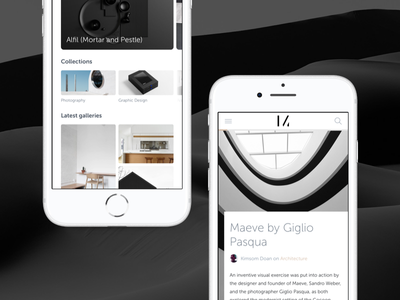 Magazine photography magazine responsive mobile
