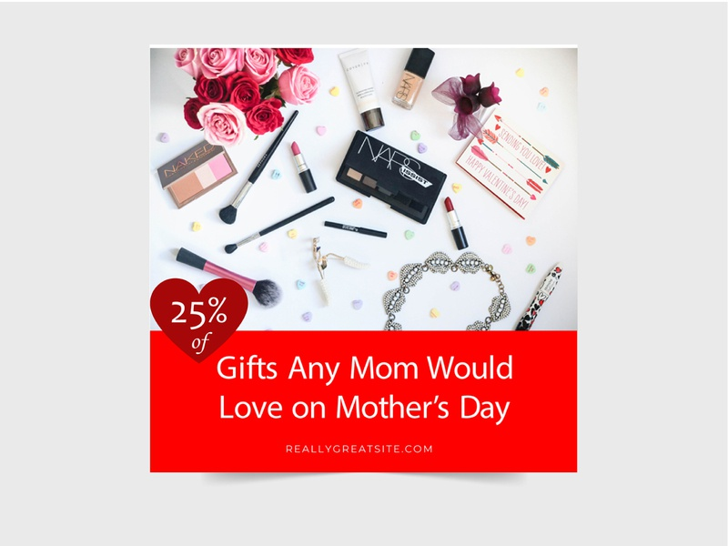 MOTHERSDAY SPECIAL SOCIAL MEDIA POST shoping sell love mothersday brand illustration beuty concept special stylish design