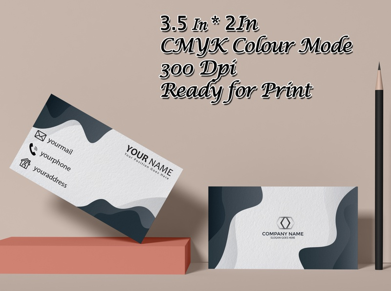 beautifull business card design business special vector beuty illustration stylish design