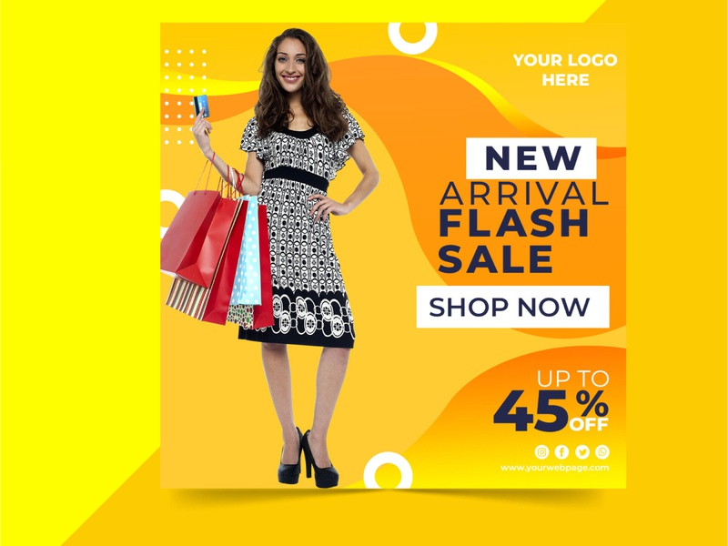 amazing uniq social media post online shopping instragram facebook mega sale big sale online store online shop brand business typography concept branding special beuty stylish design
