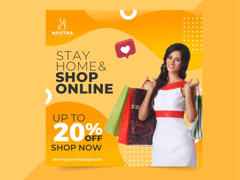 beautiful uniq social media post design awareness business typography concept brand branding special beuty stylish design