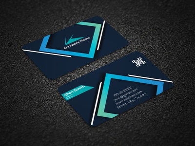 Luxurious Real State Business Card Design visiting card visiting card design vector branding corporate identity corporate business card design real-estate business card business card design business card corporate business card