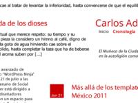 Carlos Adrián First Shot