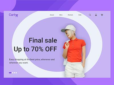 Cart - Online Shopping Cart Web UI online marketing online shopping online shop design web ux ui
