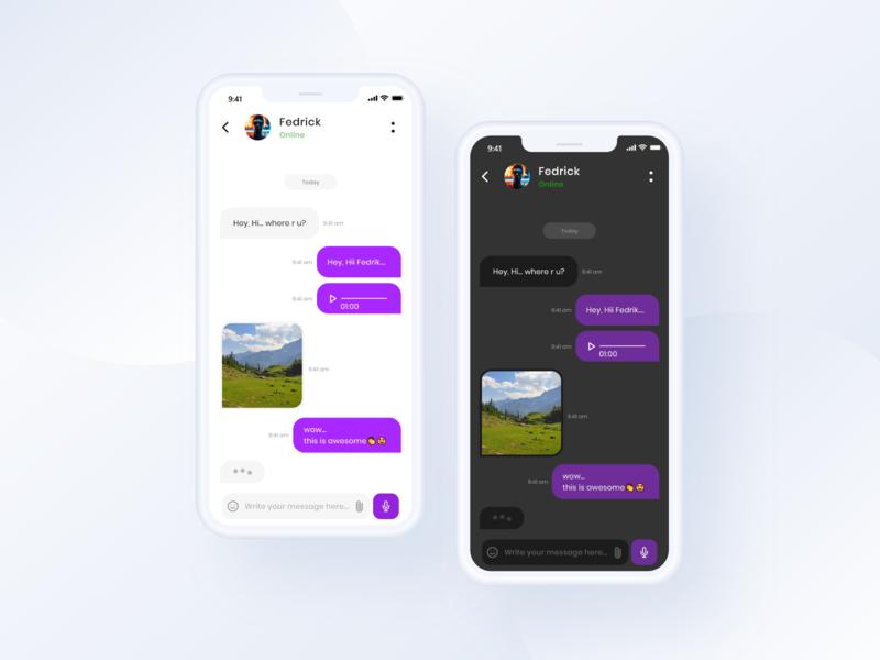 Chat Screen Design Day 5 #10ddc app design mobile design uxdesigns uiconcept uichallenge designer ux ui uxdesigner uxui mobile ui appdesign design dailyui uxdesign uidesign