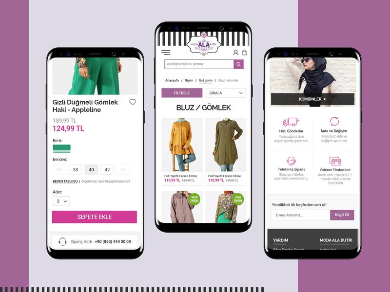 Ecommerce Shopping Design islamic clothing islamic design ecommerce shop kerem birgün ecommerce app shoping ui design ecommerce design ecommerce