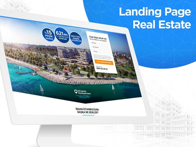 Real Estate - Landing Page