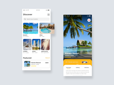 Travel Planner App Design