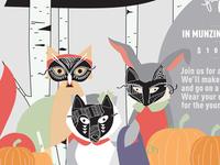 Animals In Masks