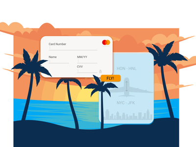Payment Form/Checkout Page #DailyUI 02 dailyui illustration design uxui uidesign uxdesign website travel checkout payment