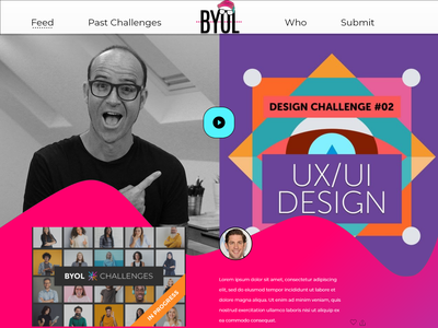 Website Restyling modern adobexd logo illustration design freelancer designer uxui uidesign uxdesign
