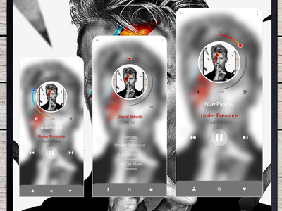 Daily UI #009 Music Player app music mp3 player daily 100 challenge design designer uxdesign uidesign uxui dailyui