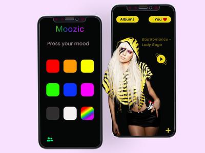 Music App Concept mobiledesign mobileapp appdesign uxtrends uitrends figma freelancer userinterface dailyui design designer uxui uxdesign uidesign