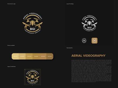 Drone Logo typogaphy flat minimal vector design illustrator drone logo drone logodesign logotype logo design logos logo branding design brand design brand identity branding brand