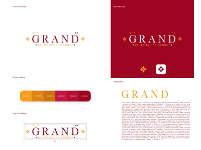 Grand Logo logo design creative flat branding illustraion logomark letter logo elegant logo minimal logo app icon logotype logo presentation startup logo for sale logo