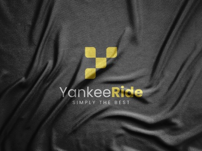 Yankee Ride logo design advertising 2021 trend 2021 logo elegant flat design geometric graphics graphic design vector art vector illustration symbol paper modern minimalist minimalism logo designer logos logo mark logotype abstract