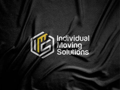 IMS logo design monogram 2021 logo 2021 trend elegant flat design geometric graphics graphic design vector art vector illustration symbol paper modern minimalism minimalist logo designer logos logo mark logotype abstract