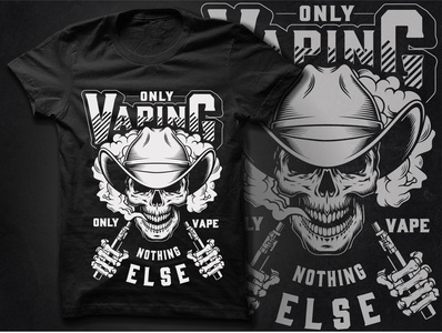 Vaping T Shirt Design smoking vaping vape branding illustration t-shirt t shirt printing design nike t shirt custom t shirts t shirt design