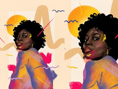 Illustration pintura digital digital art drawing digital painting illustration procreate