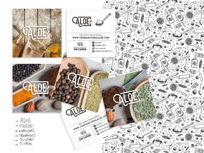 Aloe packaging minimal icon design vector ui web logo illustration branding