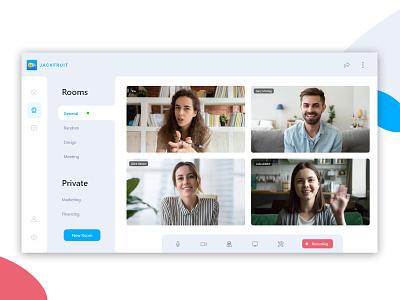 Private Meeting app for Slack app room meeting slack saas webapp ux